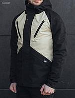 Куртка мужская Staff V black and brown V light black