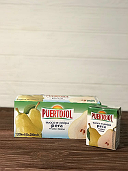 Сок Puertosol 200 мл (груша)