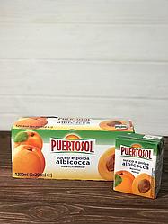 Сок Puertosol 200 мл (абрикос)