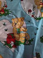 Детский комплект в кроватку Мишутка