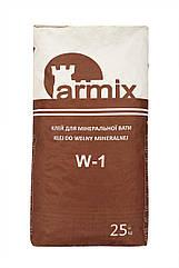 Клей для мінвати Armix W-1 клей для мінеральної вати Армікс В-1, 25кг