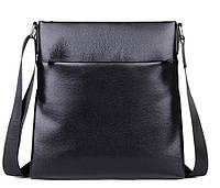Кожаная сумка на плечо под планшет и документы, мессенджер  A25-8850A