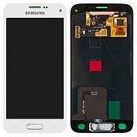 Дисплей (LCD) + Touch screen Samsung Galaxy S5 mini SM-G800F белый