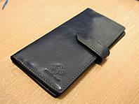 Стильное портмоне из натуральной кожи Grande Pelle, фото 1