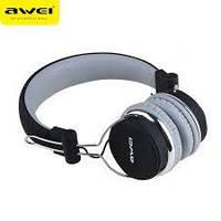 Стерео Bluetooth - наушники Awei A700BL (серые) , фото 1