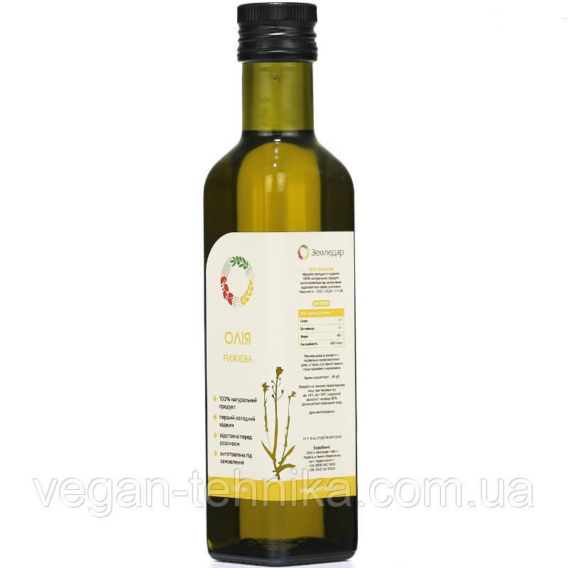 Рижієва олія сыродавленное, 250 мл