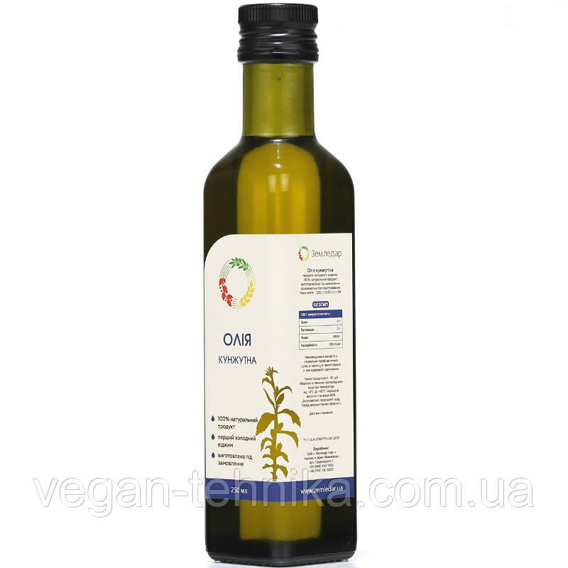 Кунжутное масло сыродавленное, 250 мл