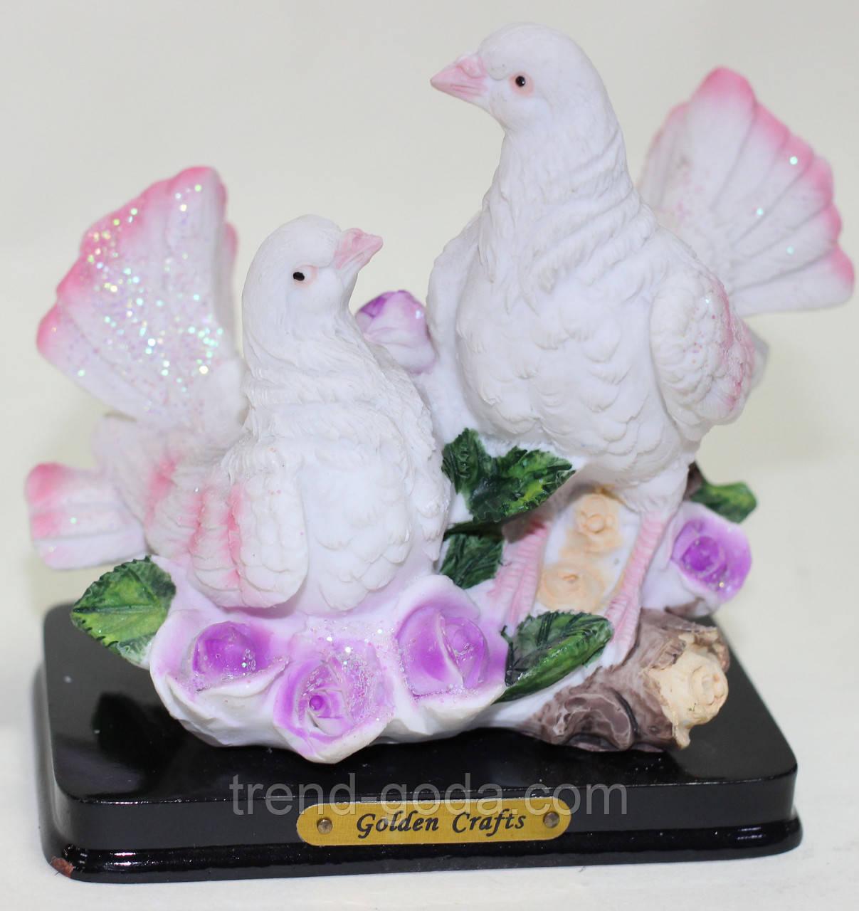 Статуэтка керамическая, голуби