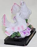 Статуэтка керамическая, голуби, фото 3