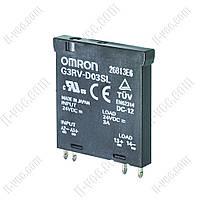 Реле твердотельное G3RV-D03SL 24VDC Omron