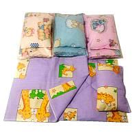 Постель в кроватку для куклы  ВП-014 Винни Пух