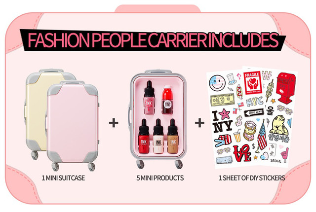 PERIPERA Fashion people's Carrier #K-Pop Girl