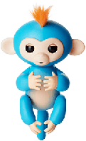 ЗОЯ Fingerlings Monkey Интерактивная ручная обезьянка