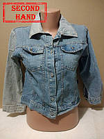 Куртка джинсовая женская 40-42р. Весна, лето;