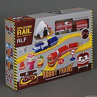 Железная дорога 828-10 (30/2) на батарейках, в коробке