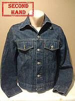 Куртка джинсовая мужская  42/XS. Весна, осень;