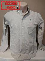 Рубашка мужская 46-48р. Внесезонная;