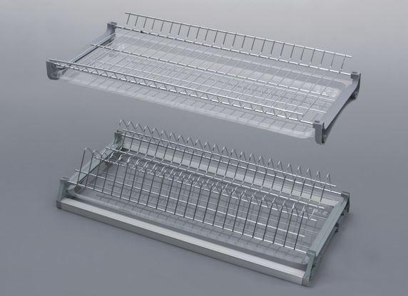 Сушка для посуды с рамой V3 хромированная ширина 400 мм Rejs