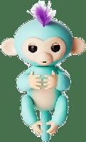 БОРИС Fingerlings Monkey Интерактивная ручная обезьянка