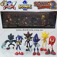 "Набор фигурок Соник - ""Sonic Boom"" - Оригинальная упаковка!"