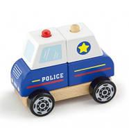 """Игрушка """"Полицейская машина"""" (50201), Viga Toys, фото 1"""