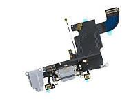 Шлейф для Apple iPhone 6S коннектора зарядки / коннектора наушников,с микрофоном,с компонентами
