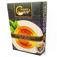 Смесь черного и зеленого чая WakeCup с кусочками фруктов и цветами (Black & Green Tea 1001 NIGHT) 100г