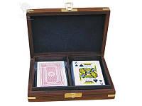 Набор 2 колоды карт Sea Club, 15,5x11,5x4 см (8018.V)