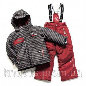Зимний термокомплект для мальчика Black / Red Leaf, 265 M F17, NANO