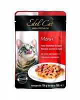 Эдель пауч для кошек Печень и кролик в соусе  100 г