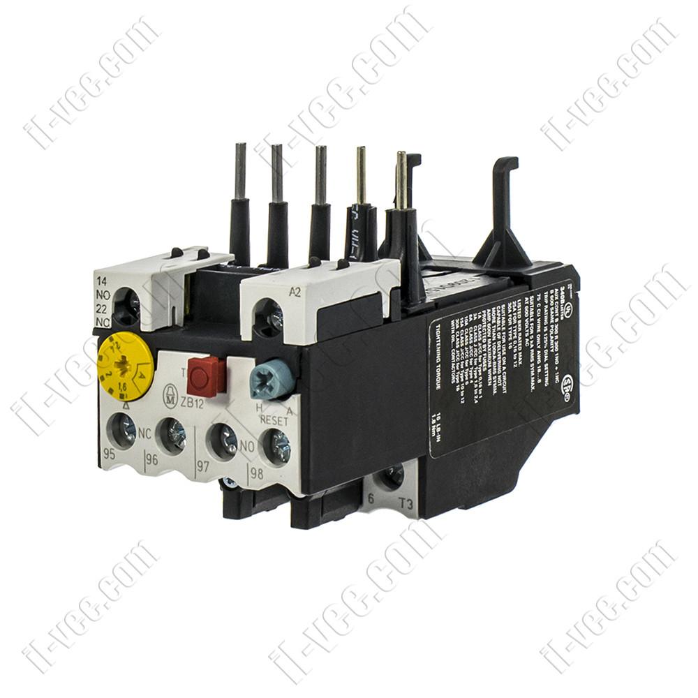Реле электротепловое ZB12-2.4, 1.6-2.4 A Eaton (Moeller)