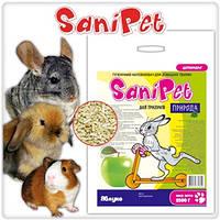 Сани Пет Наполнитель для грызунов с ароматом яблока 2.5 кг