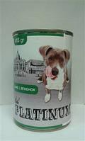 Платинум консервы для собак Ягнёнок  415 г