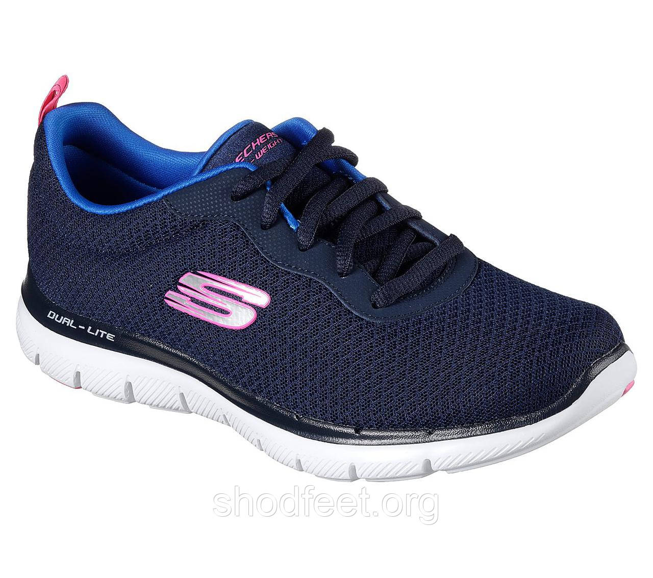 Жіночі кросівки Skechers Flex Appeal 2.0 12775-NVY