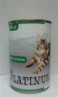 Платинум консервы для котов Ягнёнок  415 г