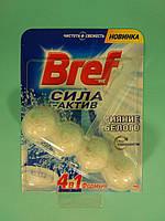 Туалетные блоки для унитаза Сила Актив (С хлор компонентом) 50гр - Bref