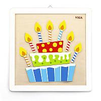 """Набор для творчества Viga Toys """"Своими руками. Торт"""" (50684), Viga Toys"""