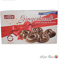 Имбирные пряники Lambertz Gingerbread in Milk Chocolate and Chocolate 500 g