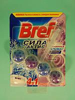 Bref - Туалетные блоки для унитаза Сила Актив (Свежесть лаванды) 50 гр
