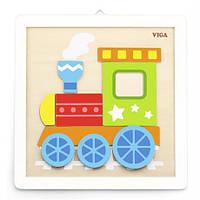"""Набор для творчества Viga Toys """"Своими руками. Паровозик"""" (50686), Viga Toys"""