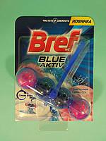 Bref - Туалетные блоки для унитаза Сила Актив (Цветочная свежесть + Синяя вода) 50 гр