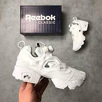 Женские кроссовки в стиле Reebok Insta Pump Fury White (36 7efc658b2bfcf