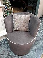 Кресло DAFNE фабрика LeComfort, цвет коричневый с бежевым кантом (Италия)