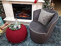 Кресло DAFNE коричневое LeComfort - Италия (бесплатная доставка)