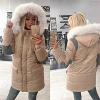 Зимняя женская куртка в разных цветах tez310134
