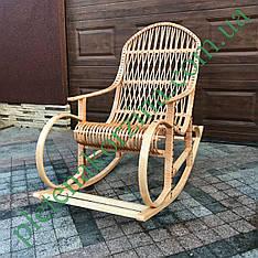 """Кресло-качалка плетеное из лозы """"Нина"""" Арт.12642"""