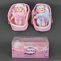 Кукла-пупс А 297 (24) 2 вида, в коробке
