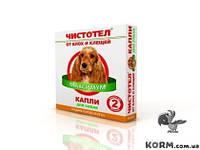 Чистотел Максимум капли для собак от блох и клещей 10-25 кг х 2шт