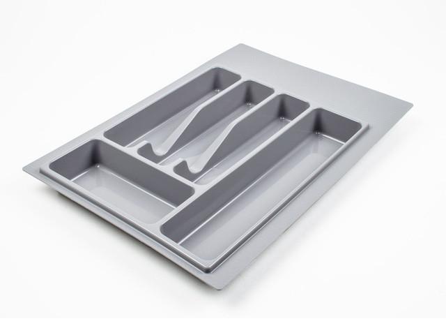 Лоток для вилок, ложек Volpato кухонный серый 390 мм