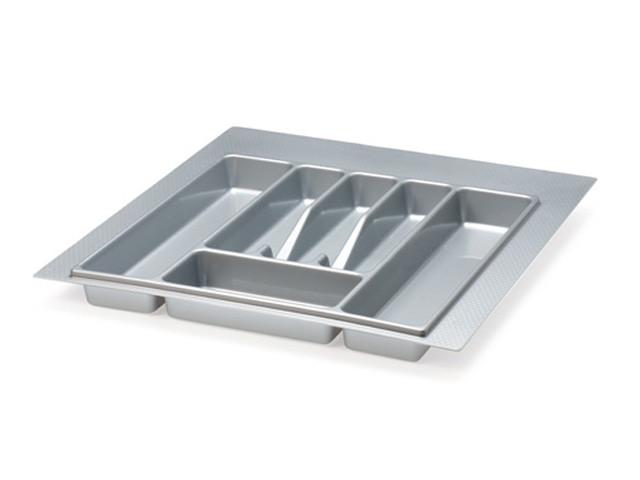 Лоток для вилок, ложек Volpato кухонный серый 440 мм